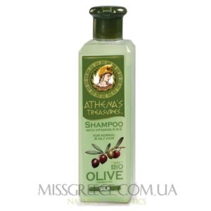 Фото оливковый шампунь для нормальных и жирных волос
