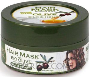 Картинка маска для волос с Мед и Шелк