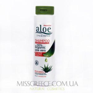 Фото шампунь для сухих волос Aloe Treasures