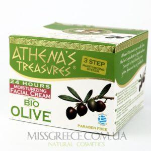 Фото греческий увлажняющий крем для лица Athena's Treasures