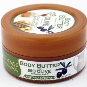 Картинка греческое масло для тела с медом и прополисом