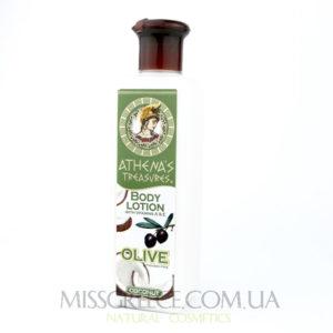 Фото увлажняющимй лосьон для тела с экстрактом листьев оливы