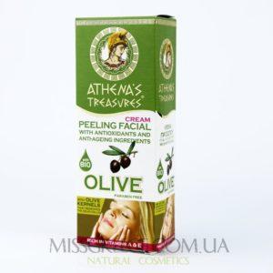 Фото пилинг для лица с оливковой косточкой